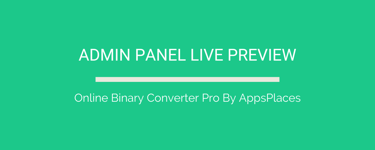 Online Binary Converter Pro (Angular 11 & Firebase) Full Production Ready App (Admin Panel, Adsense) - 2
