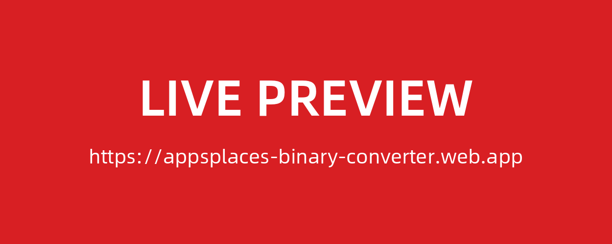 Online Binary Converter Tools Full Production Ready Application (Angular 9) - 1