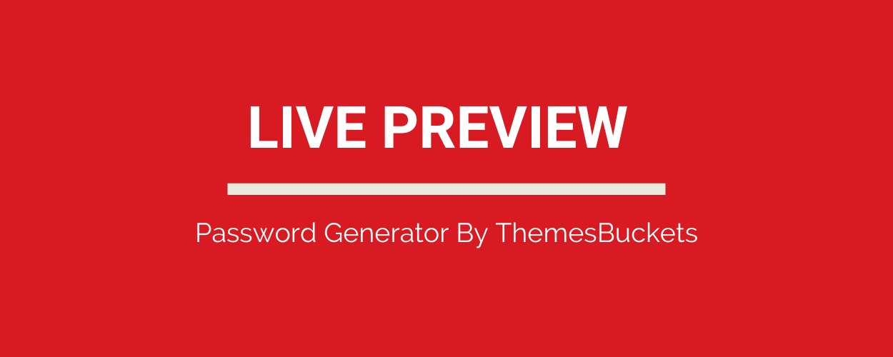 Secure Password Generator Tool Full Production Ready App (Angular 11 & Typescript) - 1